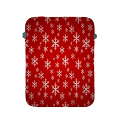 Christmas Snow Flake Pattern Apple Ipad 2/3/4 Protective Soft Cases