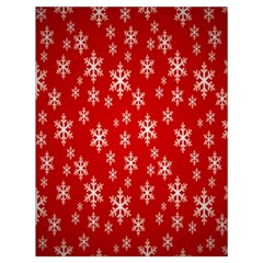 Christmas Snow Flake Pattern Drawstring Bag (large) by Nexatart