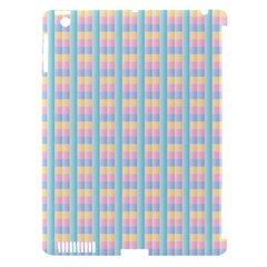 Grid Squares Texture Pattern Apple Ipad 3/4 Hardshell Case (compatible With Smart Cover)