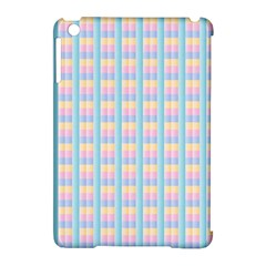 Grid Squares Texture Pattern Apple Ipad Mini Hardshell Case (compatible With Smart Cover)