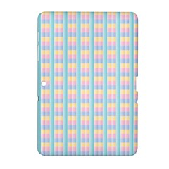 Grid Squares Texture Pattern Samsung Galaxy Tab 2 (10 1 ) P5100 Hardshell Case