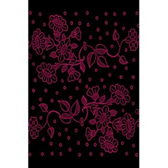 Pink Floral Pattern Background Wallpaper 5 5  X 8 5  Notebooks