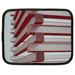 Red Sunglasses Art Abstract Netbook Case (xxl)