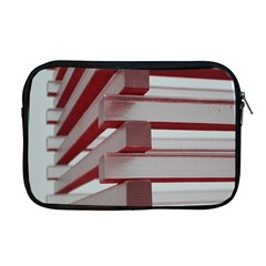 Red Sunglasses Art Abstract Apple Macbook Pro 17  Zipper Case by Nexatart