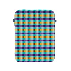 Pattern Grid Squares Texture Apple Ipad 2/3/4 Protective Soft Cases