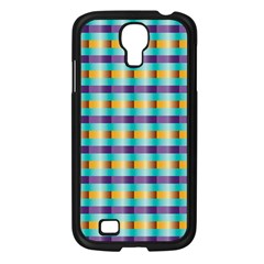 Pattern Grid Squares Texture Samsung Galaxy S4 I9500/ I9505 Case (black)