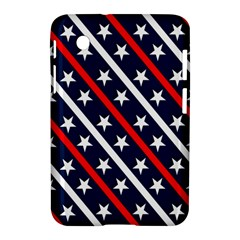Patriotic Red White Blue Stars Samsung Galaxy Tab 2 (7 ) P3100 Hardshell Case  by Nexatart