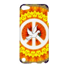Peace Art Artwork Love Dove Apple Ipod Touch 5 Hardshell Case by Nexatart