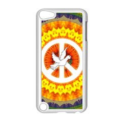 Peace Art Artwork Love Dove Apple Ipod Touch 5 Case (white) by Nexatart