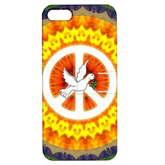 Peace Art Artwork Love Dove Apple Iphone 5 Hardshell Case With Stand by Nexatart