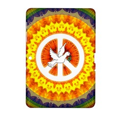 Peace Art Artwork Love Dove Samsung Galaxy Tab 2 (10 1 ) P5100 Hardshell Case  by Nexatart