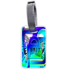 Security Castle Sure Padlock Luggage Tags (two Sides) by Nexatart