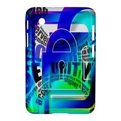 Security Castle Sure Padlock Samsung Galaxy Tab 2 (7 ) P3100 Hardshell Case