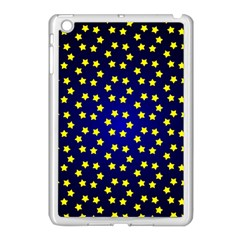 Star Christmas Yellow Apple Ipad Mini Case (white)