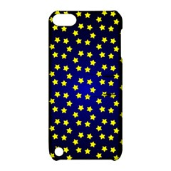 Star Christmas Yellow Apple Ipod Touch 5 Hardshell Case With Stand by Nexatart