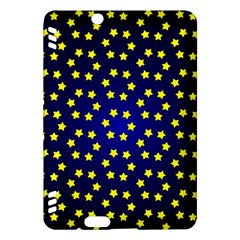 Star Christmas Yellow Kindle Fire HDX Hardshell Case