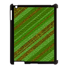 Stripes Course Texture Background Apple Ipad 3/4 Case (black)