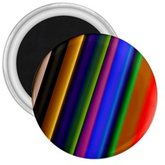 Strip Colorful Pipes Books Color 3  Magnets by Nexatart