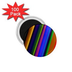 Strip Colorful Pipes Books Color 1 75  Magnets (100 Pack)  by Nexatart