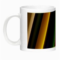 Strip Colorful Pipes Books Color Night Luminous Mugs