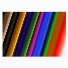 Strip Colorful Pipes Books Color Large Glasses Cloth by Nexatart