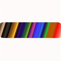 Strip Colorful Pipes Books Color Large Bar Mats by Nexatart