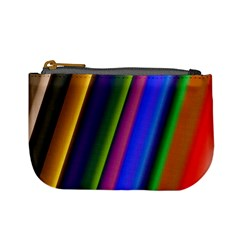 Strip Colorful Pipes Books Color Mini Coin Purses by Nexatart