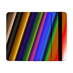 Strip Colorful Pipes Books Color Samsung Galaxy Tab Pro 8 4  Flip Case by Nexatart