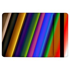 Strip Colorful Pipes Books Color Ipad Air Flip by Nexatart