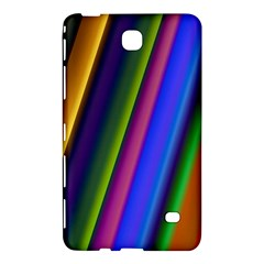 Strip Colorful Pipes Books Color Samsung Galaxy Tab 4 (7 ) Hardshell Case  by Nexatart