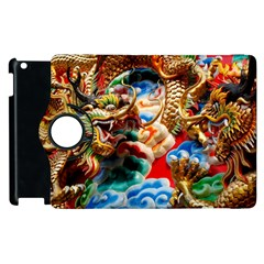Thailand Bangkok Temple Roof Asia Apple Ipad 3/4 Flip 360 Case