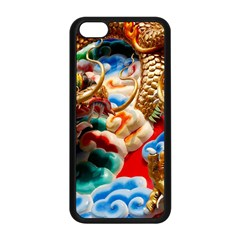 Thailand Bangkok Temple Roof Asia Apple Iphone 5c Seamless Case (black)