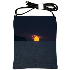 Sunset Ocean Azores Portugal Sol Shoulder Sling Bags