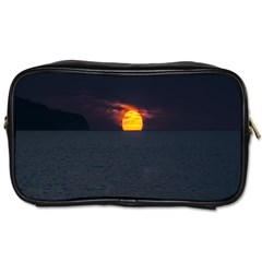 Sunset Ocean Azores Portugal Sol Toiletries Bags 2 Side