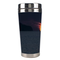 Sunset Ocean Azores Portugal Sol Stainless Steel Travel Tumblers by Nexatart