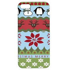 Ugly Christmas Xmas Apple Iphone 5 Hardshell Case With Stand