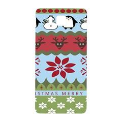 Ugly Christmas Xmas Samsung Galaxy Alpha Hardshell Back Case by Nexatart