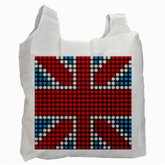 The Flag Of The Kingdom Of Great Britain Recycle Bag (two Side)