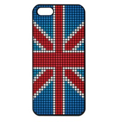 The Flag Of The Kingdom Of Great Britain Apple Iphone 5 Seamless Case (black) by Nexatart