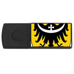 Silesia Coat Of Arms  Usb Flash Drive Rectangular (4 Gb) by abbeyz71
