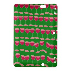Wine Red Champagne Glass Red Wine Kindle Fire Hdx 8 9  Hardshell Case