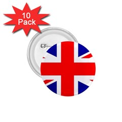 Union Jack Flag 1 75  Buttons (10 Pack) by Nexatart