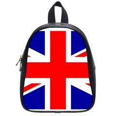 Union Jack Flag School Bags (Small)  by Nexatart