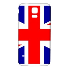 Union Jack Flag Samsung Galaxy S5 Back Case (white)