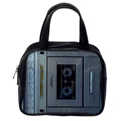 Vintage Tape Recorder Classic Handbags (one Side)