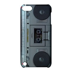 Vintage Tape Recorder Apple Ipod Touch 5 Hardshell Case With Stand