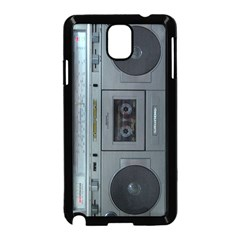 Vintage Tape Recorder Samsung Galaxy Note 3 Neo Hardshell Case (black)