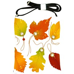 Vector Beautiful Maple Leaf Shoulder Sling Bags by Nexatart