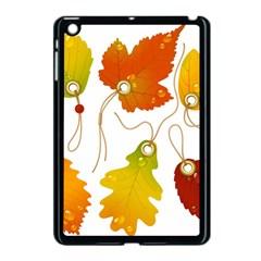 Vector Beautiful Maple Leaf Apple Ipad Mini Case (black)
