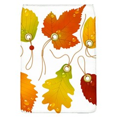 Vector Beautiful Maple Leaf Flap Covers (l)